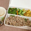 Vegetarian Brown Rice Bento