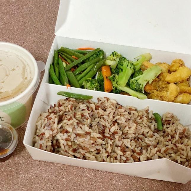 Vegetarian Brown Rice Bento