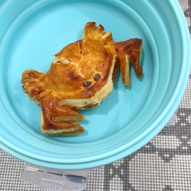 Chilli crab puff