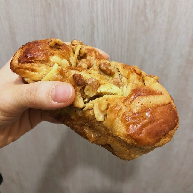Black Sugar Walnut Toast