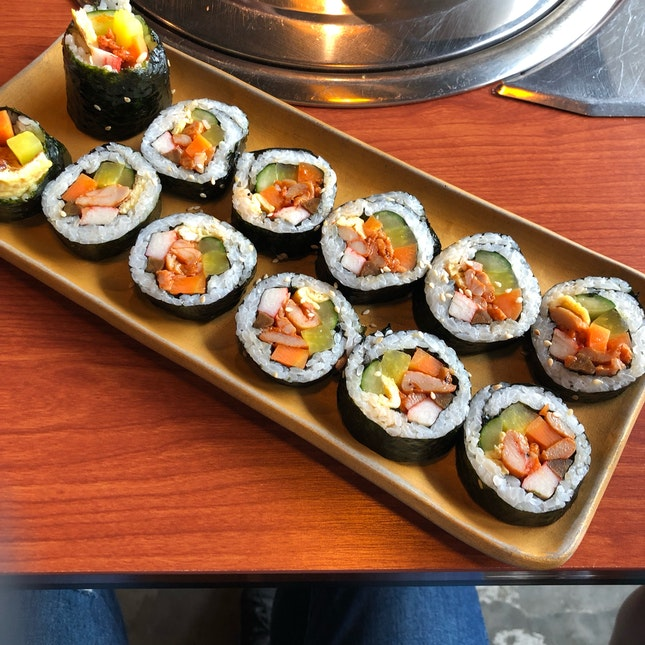 Chicken gimbap