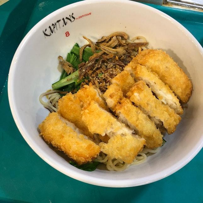 Fried Squid Fillet Noodle