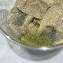 Soybean Powder & Matcha Warabi Mochi