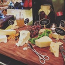 Glorious cheese board for last night's buffet treat for mother in law's birthday!!