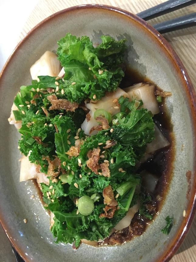 Rice Rolls Kale-ing It