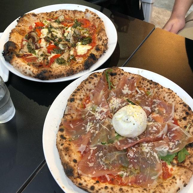Amazing authentic Italian Pizzas!