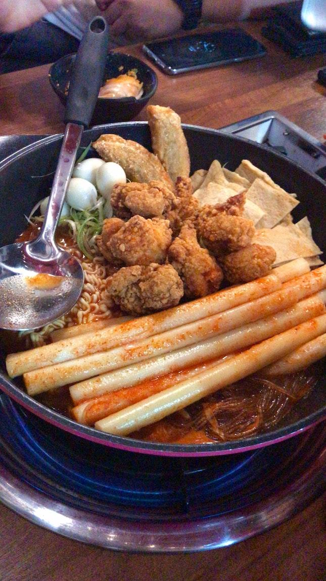 Tteokbokki Pot With Cheeseeeee