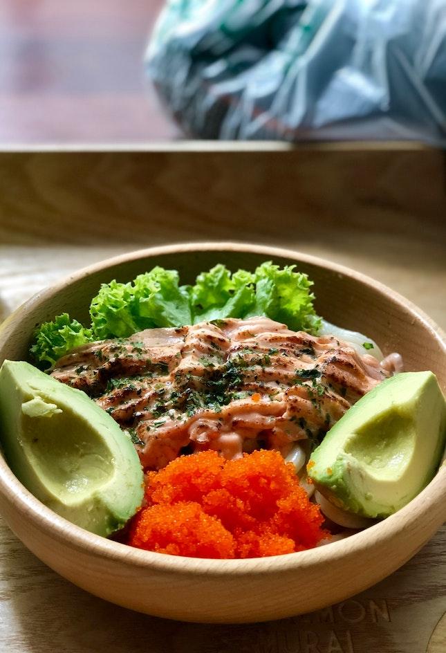 Mentaiko Salmon With Udon ($11.90)