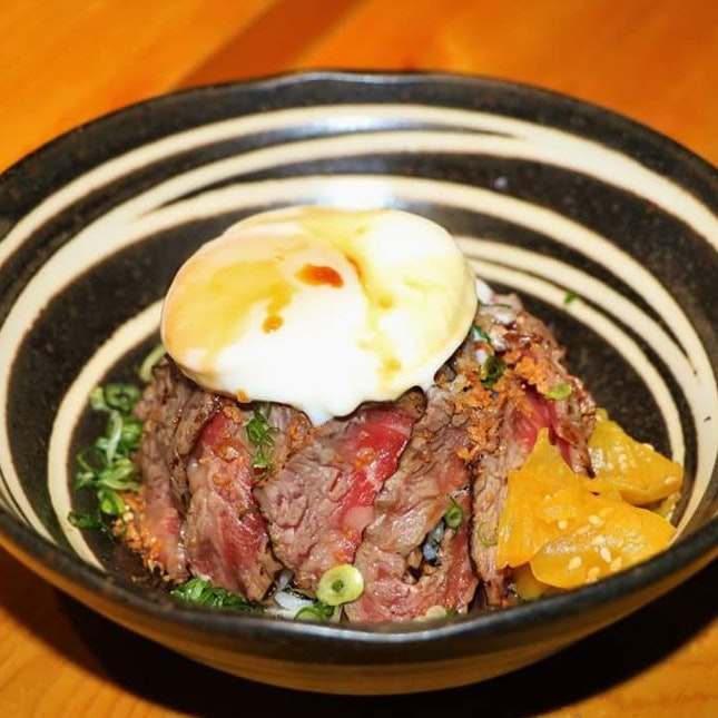 Wagyu Beef Don, $18.90 (Only Available For Lunch)