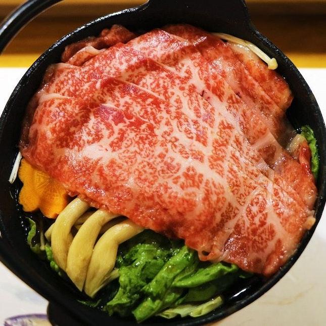A4 Wagyu Beef Sukiyaki