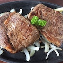 Grilled Ribeye and Sirloin