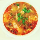 Spicy Tom yum soup!