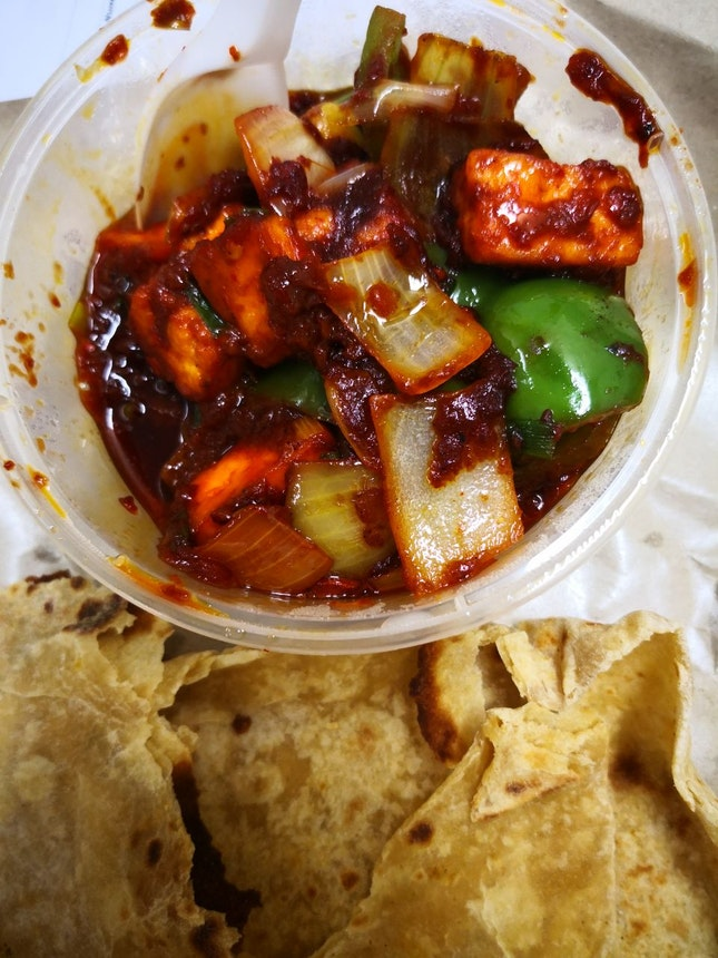 Spicy Chilli Paneer that makes You Go Oh La La