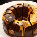 After having chocolates, we are thinking about this chocolate cake from @GoodWoodParkHotelSG.