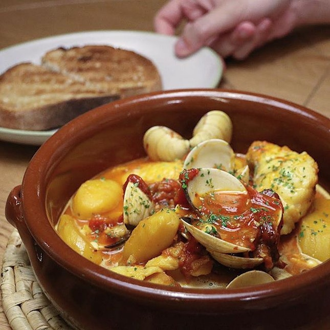 Ibiza Style Fish & Seafood Stew from the newly opened Olivia Restaurant!