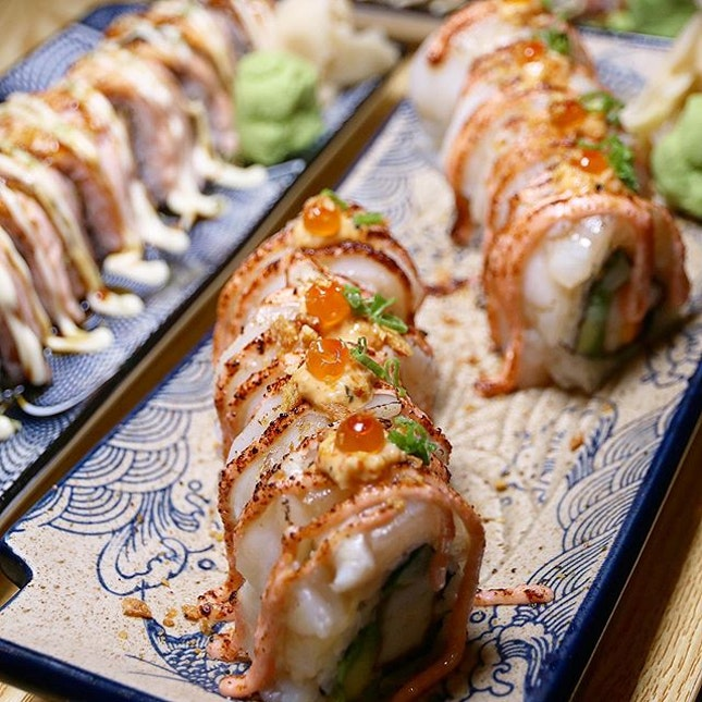 Can always end the day with Makis!