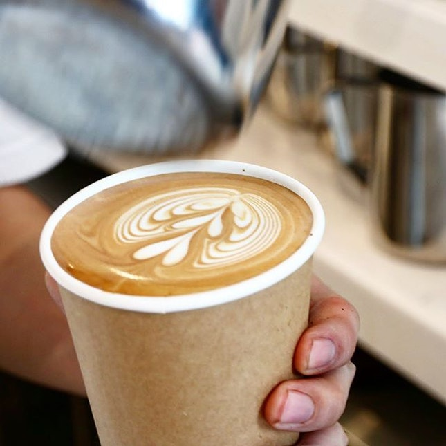 There's something about latte art which adds to the excitement of waiting for our coffee.