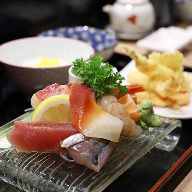 Craving for sashimi!