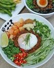 @menyakokorosg , The largest authentic Maze-Soba unveils new dishes.