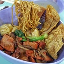 Ji Ji Signature Char Siew Wanton Noodle.