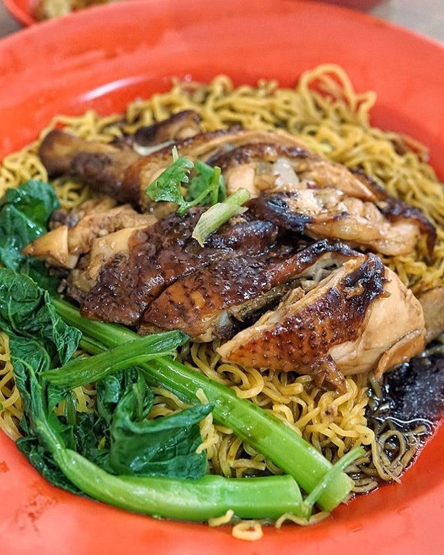 Soy Sauce Chicken Noodle from Original Chew Kee Eating House.