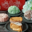 mochi snowskin Ice Cream Mooncake from @swensenssingapore, its a must mooncakes for little boss.