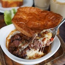 Brunch Wagyu Beef Pie with Leafy Salad from All Day Menu, Wildseed.