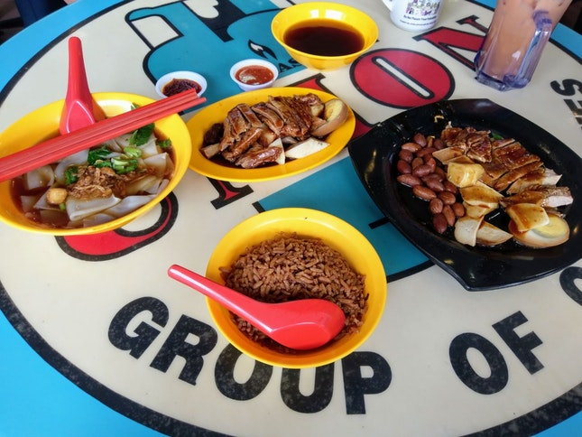 Duck Kway Chap Set And Specialty Duck Rice Set