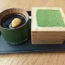 Maccha Soya Pudding and Maccha Tiramisu