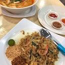 Pad Thai ($5) Tom Yum with Noodles ($6)