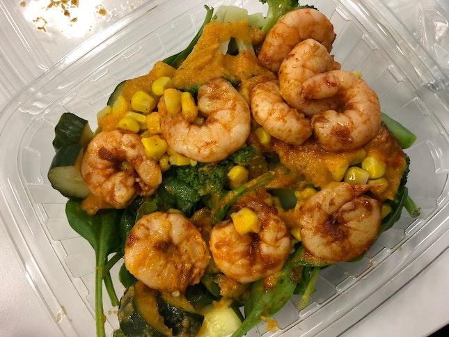 Tom Yam Shrimp Salad