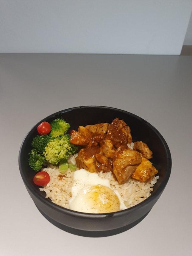 Golden Fragrance Chicken Rice Bowl