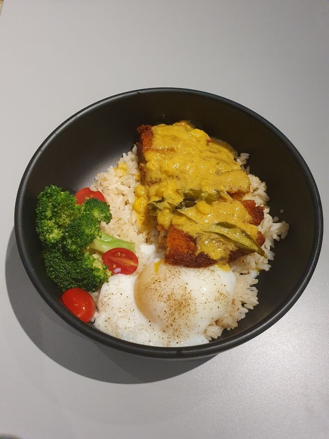 Creamy Buttermilk Chicken Rice Bowl