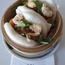 Cajun Shrimp Salsa Bao