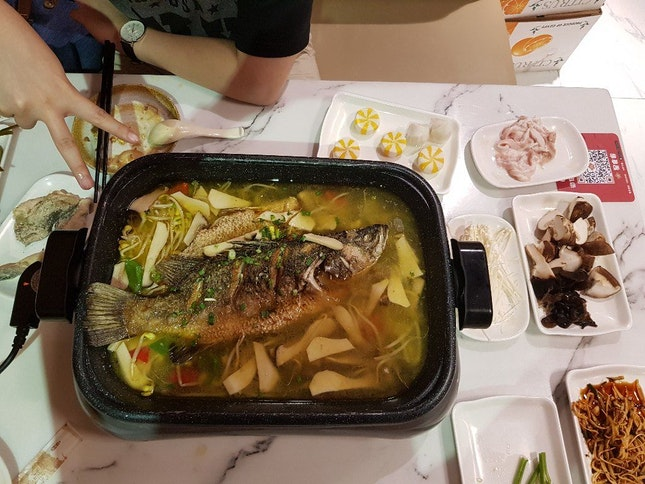 Grill Fish Buffet ($24.90++ For Weekend)