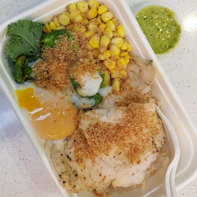 Regular Bowl With Chicken Breast ($12)