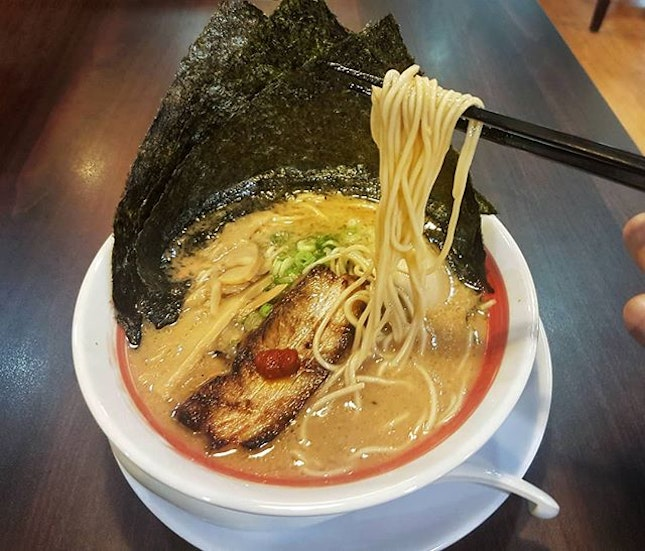 This has been my favourite ramen in SG for ages.