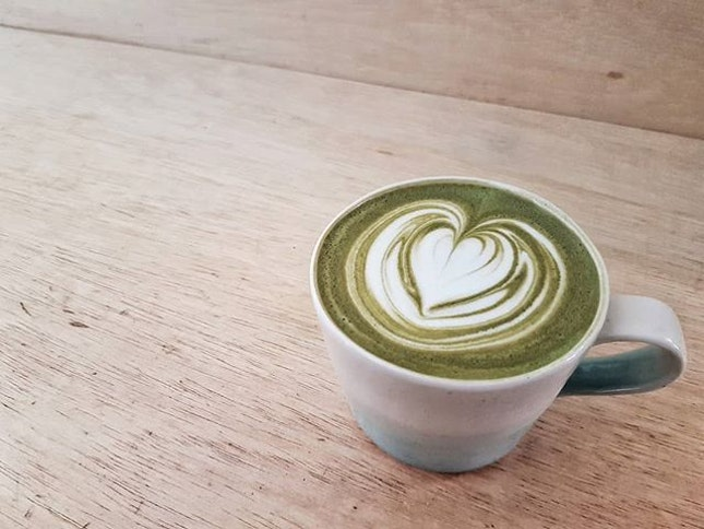 The best of both worlds, as two complex tasting beverages were deftly blended together into this dirty matcha.