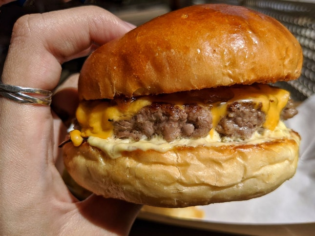 Best Kopitiam Burger Joint By Far