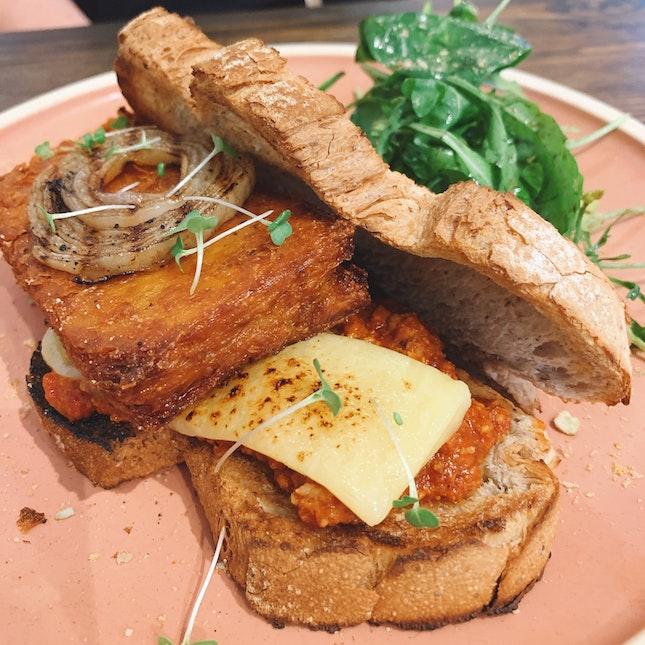Porky Bolognese Sandwich