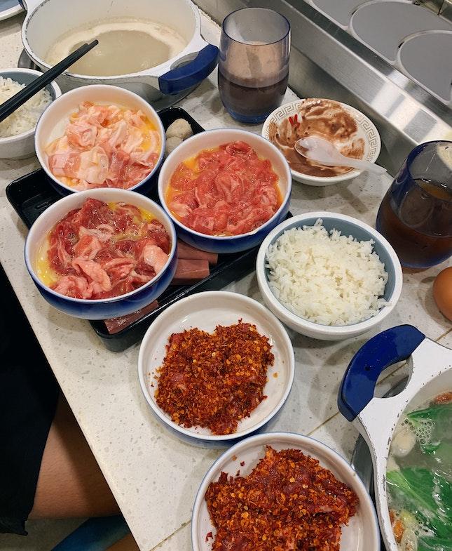 lunch buffet ($19.80+)