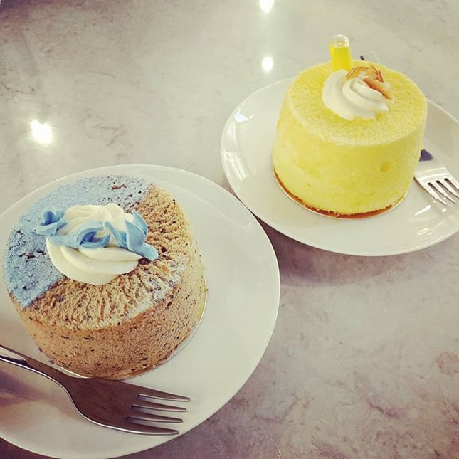 4⭐ Refreshing mocktails and delicious chiffon cakes.