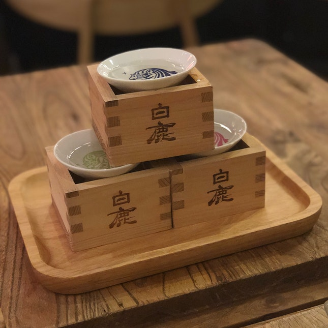 Great Sake And Food!