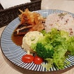 $14.90++ Set Lunch on weekends and $13.90++ Set Lunch on weekdays consists of a main, soup and drink.