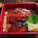 Grilled Unagi Don 😍 ($28++): Look at the thick slabs of unagi!