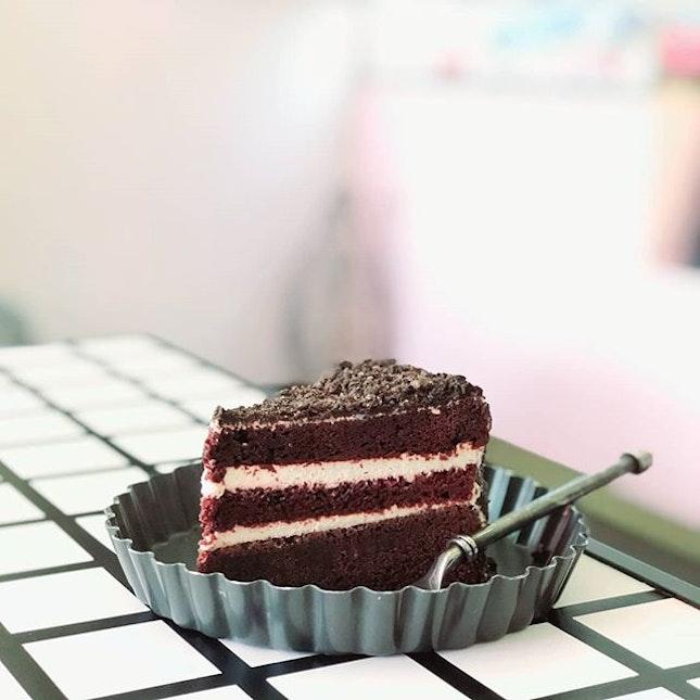 Cookie red velvet cake 🍰