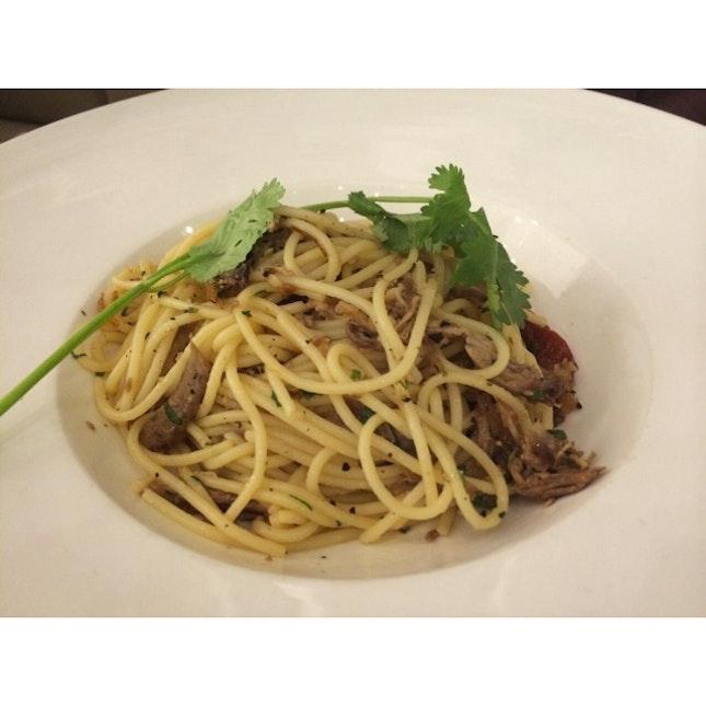 Duck Confit Pasta