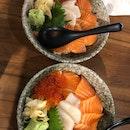 Salmon Hotate Don $21.80++