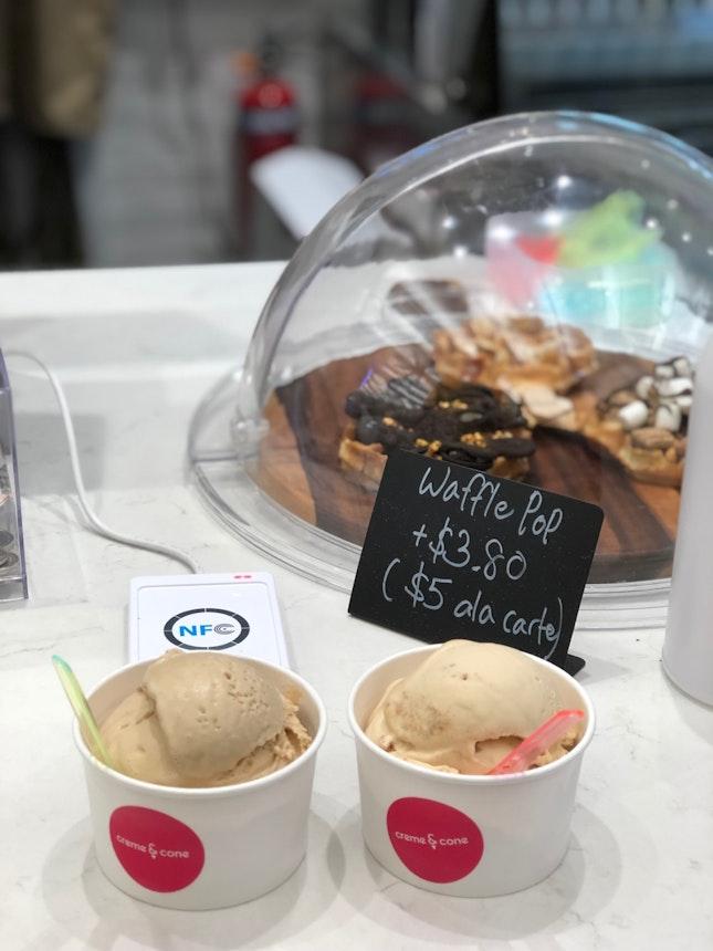 Single Scoop Ice Cream $4.6