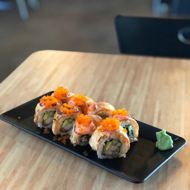 Salmon Mentai Sushi $12.9